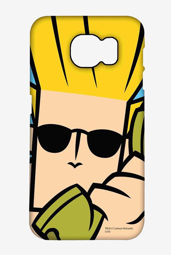 Johnny Bravo On The Phone Case for Samsung S6 Edge Plus