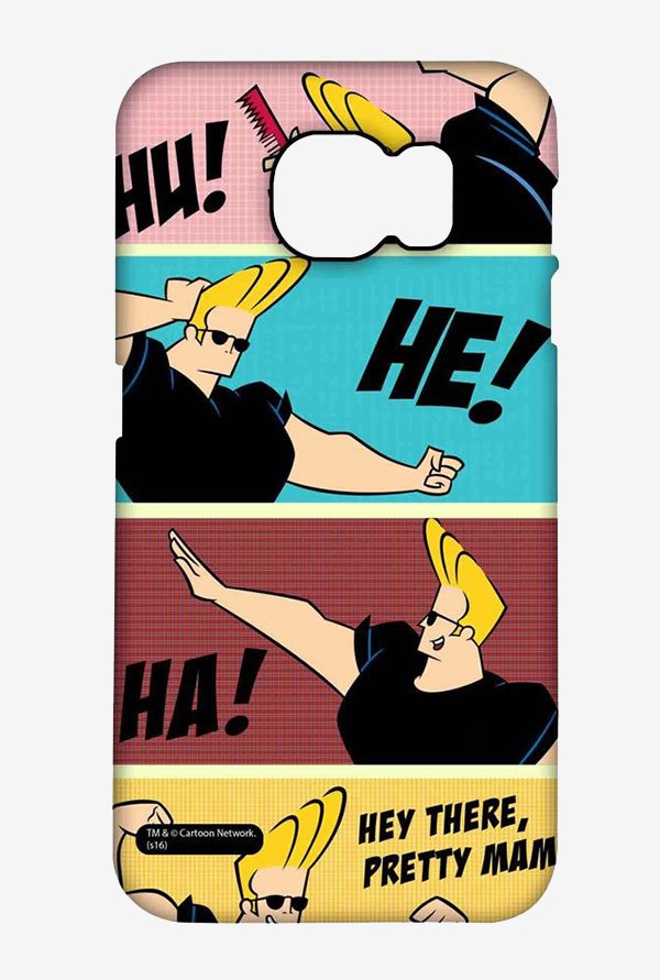Johnny Bravo Posing Case for Samsung S6 Edge Plus