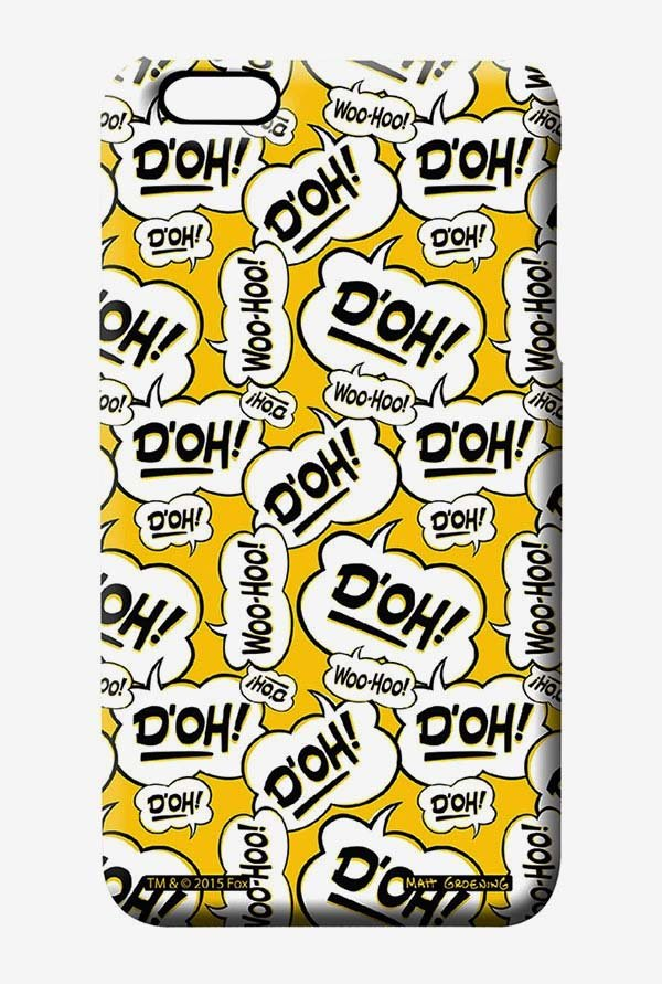 Simpsons Random Expressions Case for iPhone 6 Plus