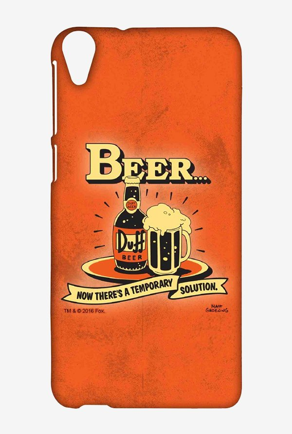 Simpsons Temporary Solution Case for HTC Desire 820