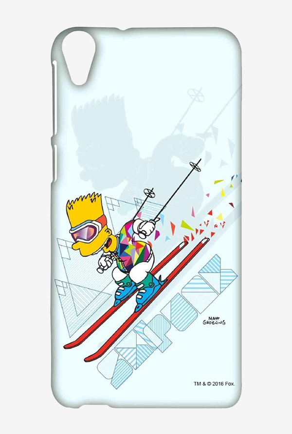 Simpsons Ski Punk Case for HTC Desire 820