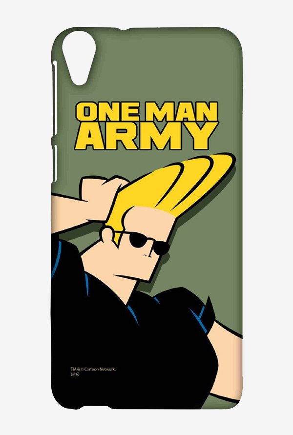 Johnny Bravo One Man Army Case for HTC Desire 820