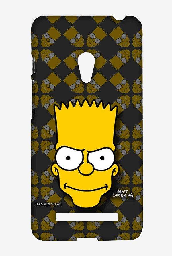 Simpsons Bartface Case for Asus Zenfone 5