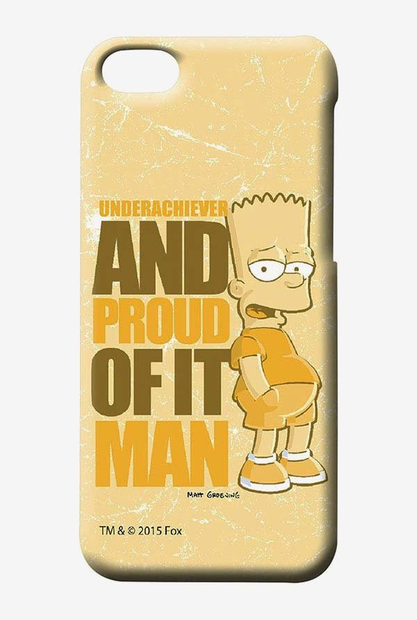 Simpsons Proud Underachiever Case for iPhone 5C