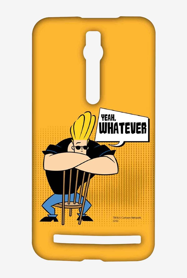 Johnny Bravo Yeah Whatever Case for Asus Zenfone 2