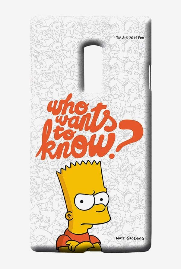 Simpsons Who Wants To Know Case for Oneplus Two