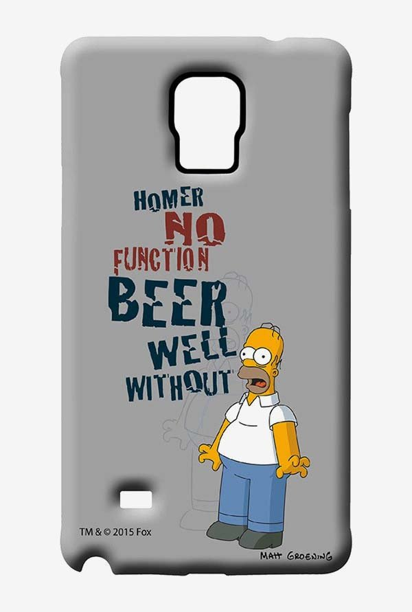 Simpsons Homers Poison Case for Samsung Note 4