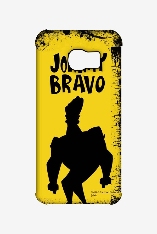 Johnny Bravo Yellow Grunge Case for Samsung S6 Edge