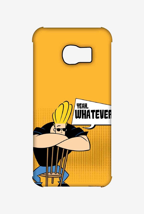 Johnny Bravo Yeah Whatever Case for Samsung S6 Edge
