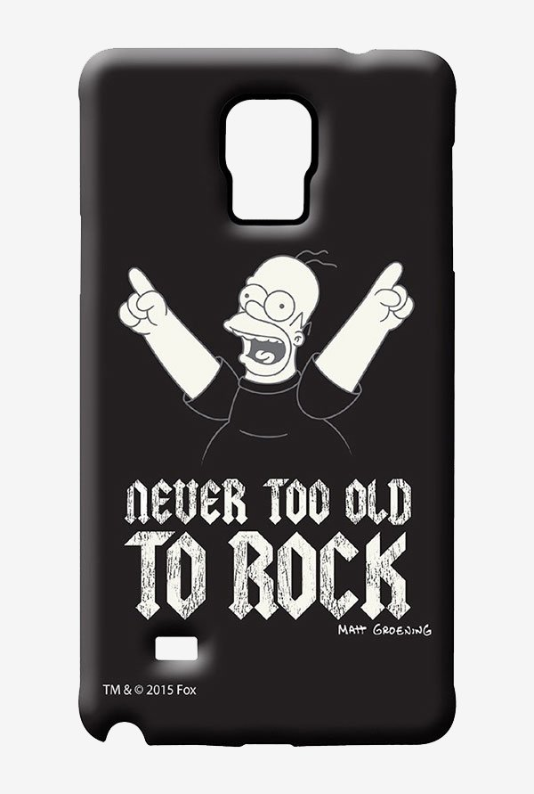 Simpsons Rockstar Homer Case for Samsung Note 4