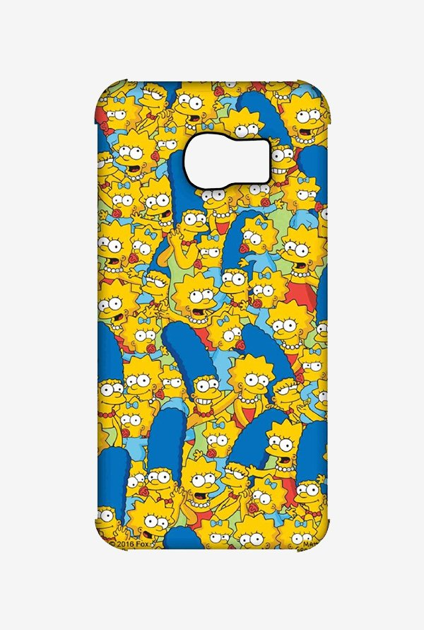 Simpsons Pattern Case for Samsung S6 Edge