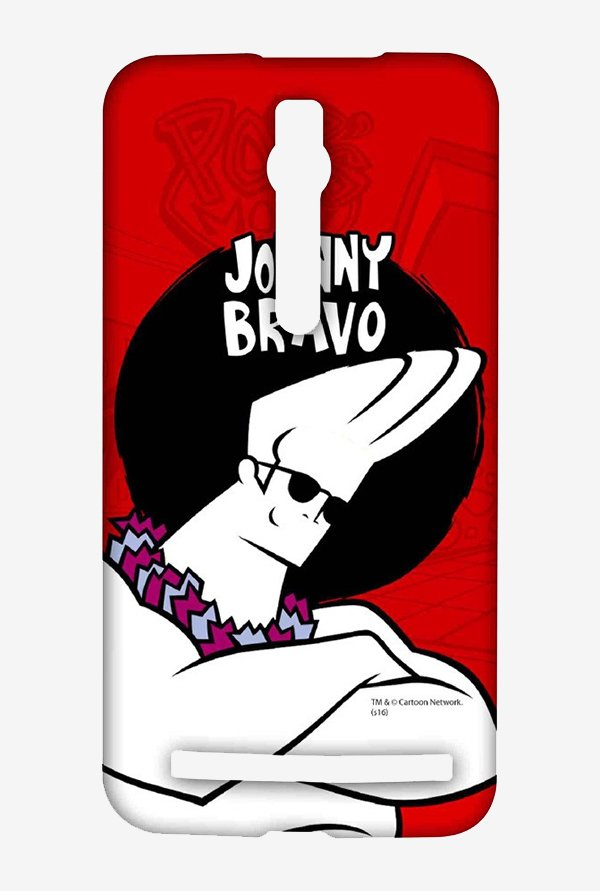 Johnny Bravo Hawaii Case for Asus Zenfone 2