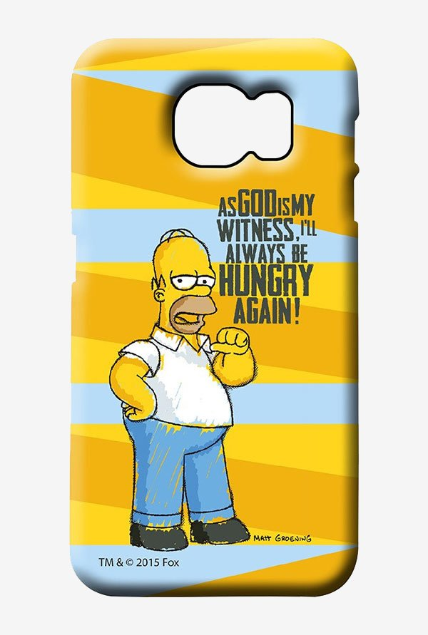 Simpsons Hungry Homer Case for Samsung S6