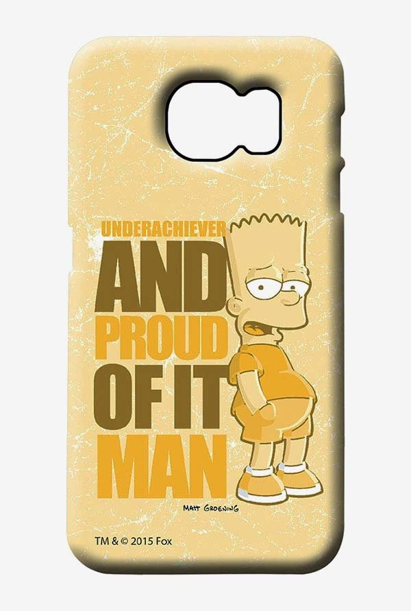 Simpsons Proud Underachiever Case for Samsung S6