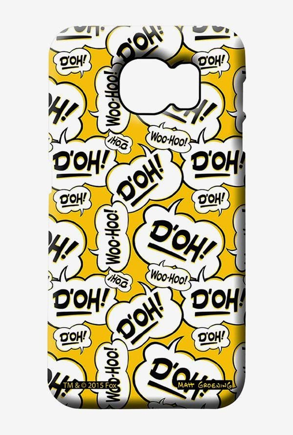 Simpsons Random Expressions Case for Samsung S6