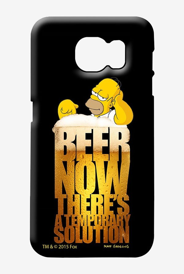 Simpsons The Beer Solution Case for Samsung S6
