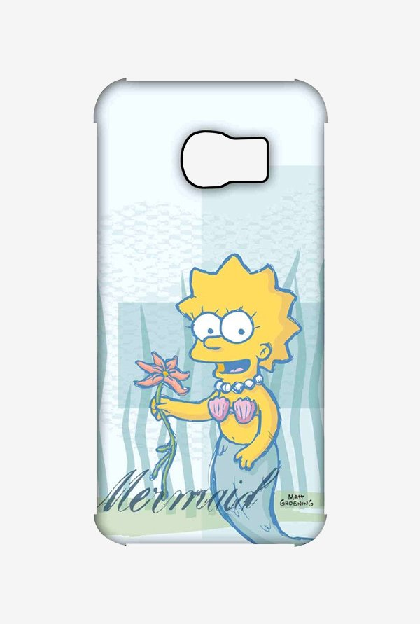 Simpsons Mermaid Case for Samsung S6 Edge