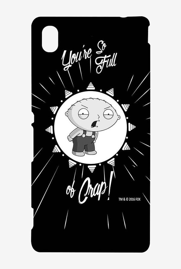 Family Guy You Sir Are Full Of It Case for Sony Xperia M4