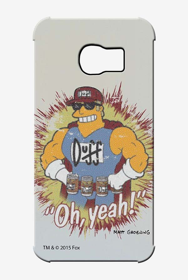 Simpsons Duff Oh Yeah Case for Samsung S6 Edge