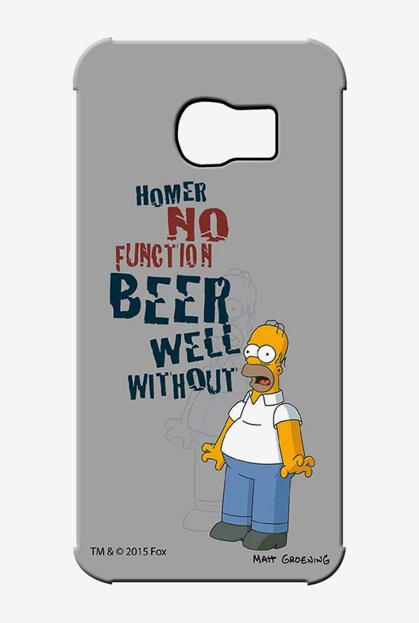 Simpsons Homers Poison Case for Samsung S6 Edge