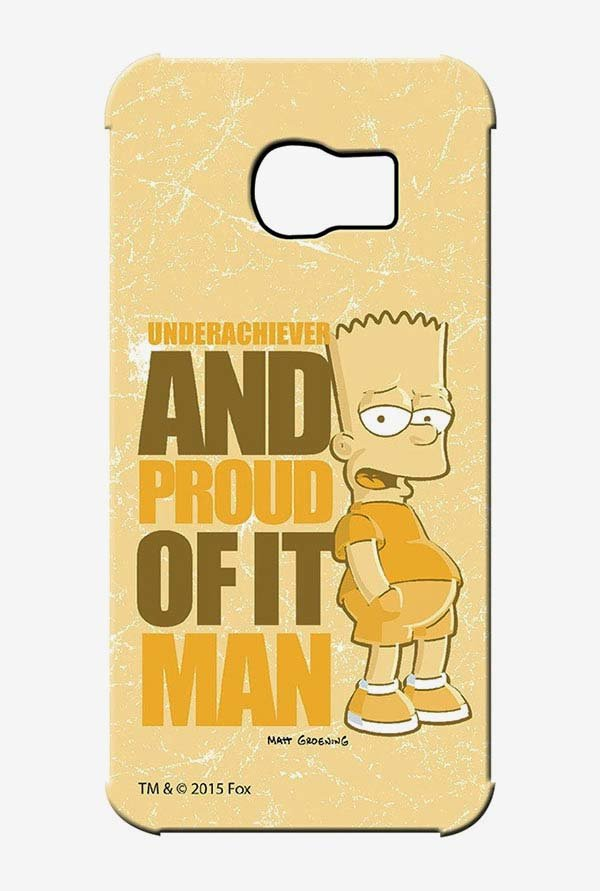 Simpsons Proud Underachiever Case for Samsung S6 Edge
