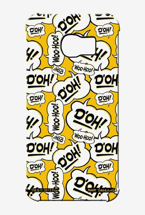 Simpsons Random Expressions Case for Samsung S6 Edge