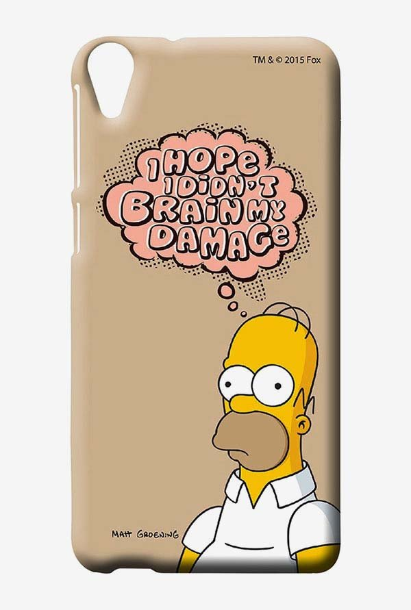 Simpsons Brain Humour Case for HTC Desire 820