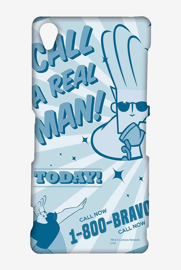 Johnny Bravo The Real Man Case for Sony Xperia Z3