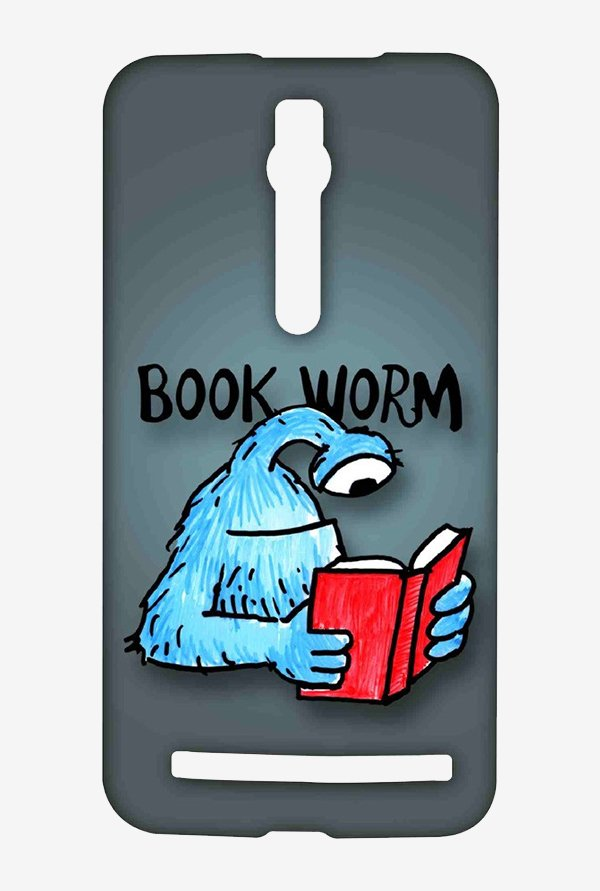 Kritzels Book Worm Case for Asus Zenfone 2