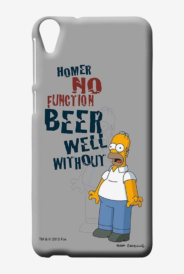 Simpsons Homers Poison Case for HTC Desire 820