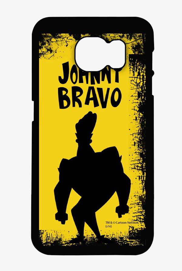 Johnny Bravo Yellow Grunge Case for Samsung S6 Edge Plus