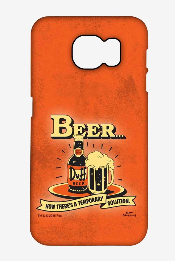 Simpsons Temporary Solution Case for Samsung S6 Edge Plus
