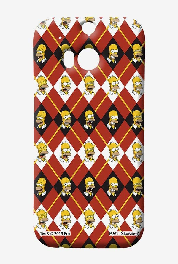 Simpsons Homer Moods Case for HTC One M8