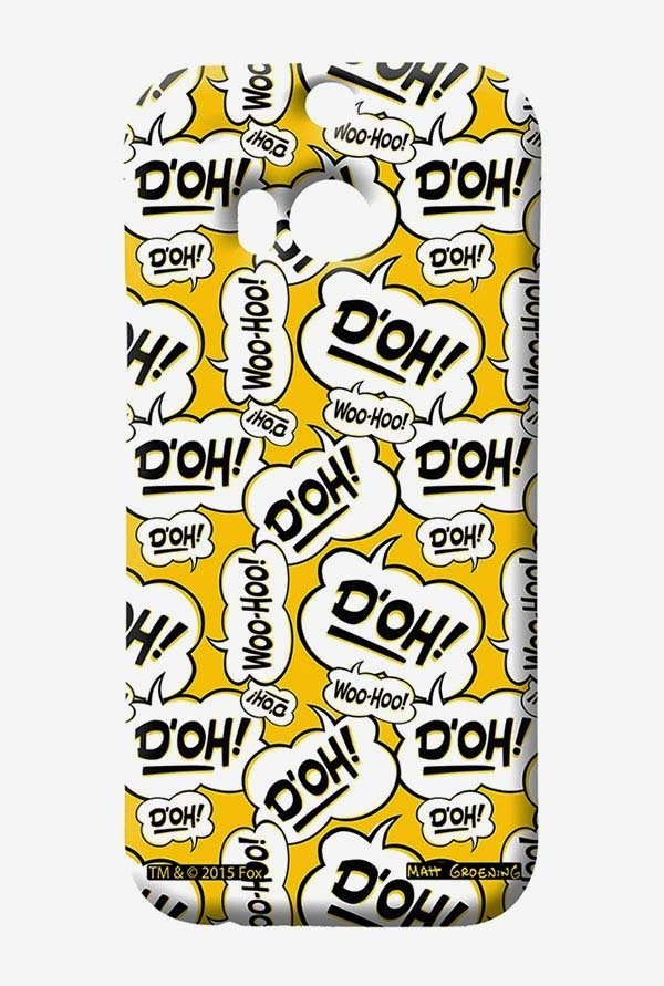 Simpsons Random Expressions Case for HTC One M8