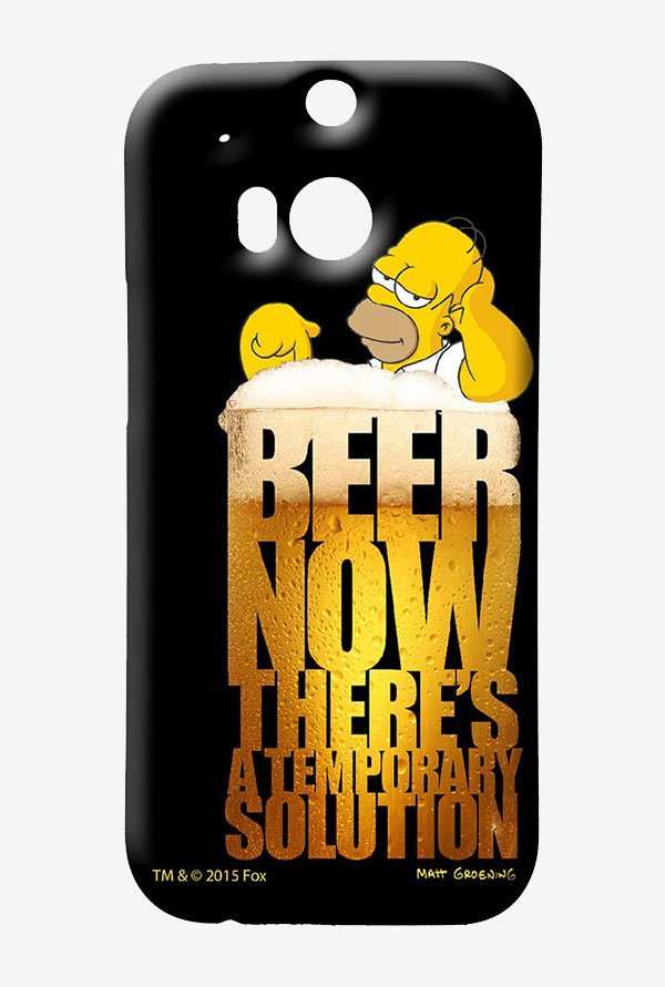 Simpsons The Beer Solution Case for HTC One M8