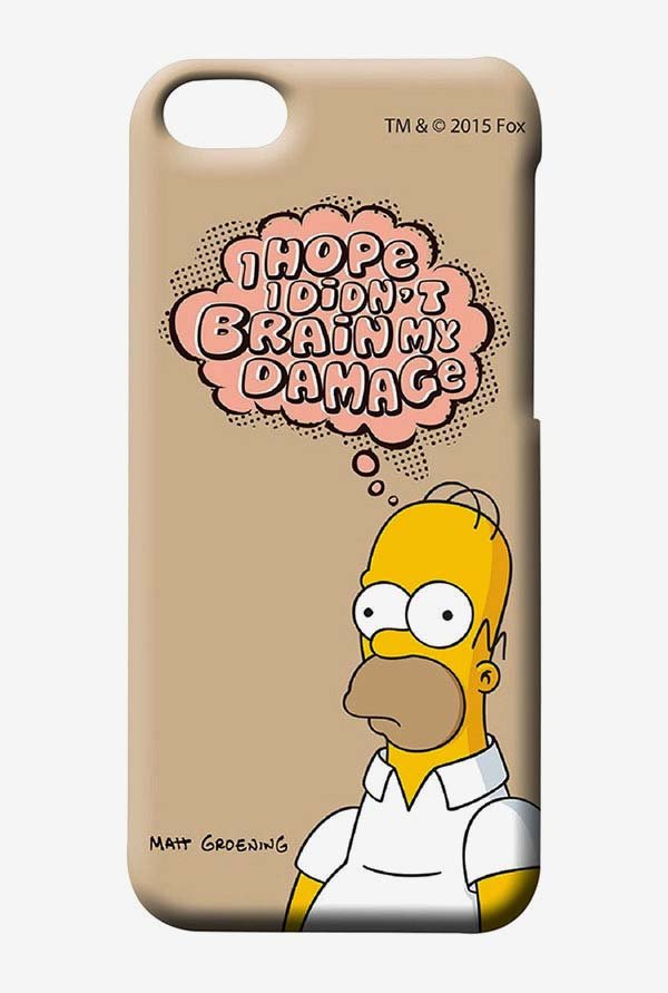 Simpsons Brain Humour Case for iPhone 4/4s