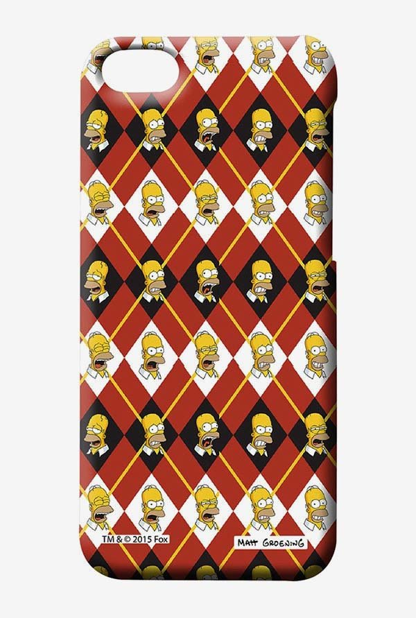 Simpsons Homer Moods Case for iPhone 4/4s