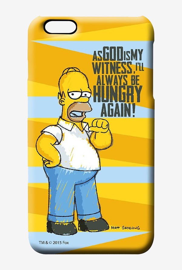 Simpsons Hungry Homer Case for iPhone 6s Plus