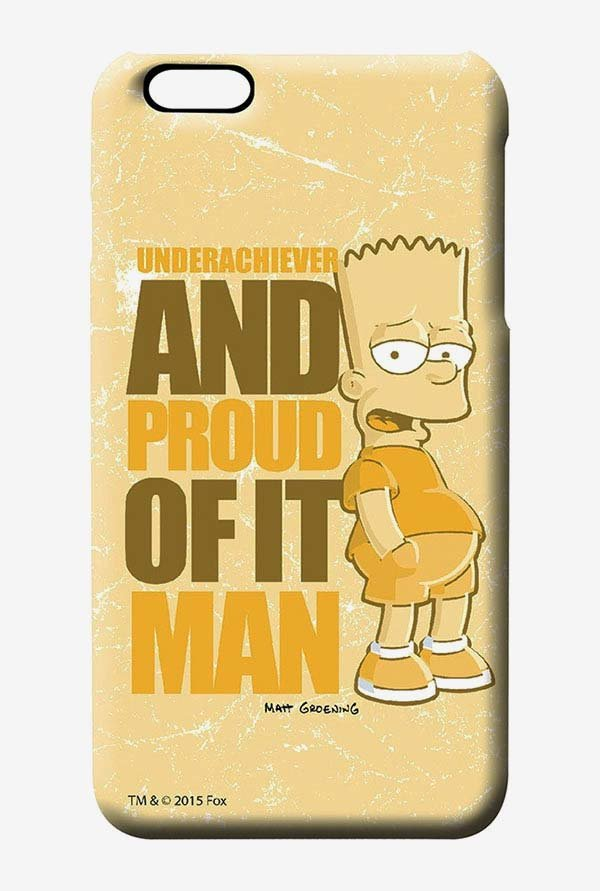 Simpsons Proud Underachiever Case for iPhone 6s Plus