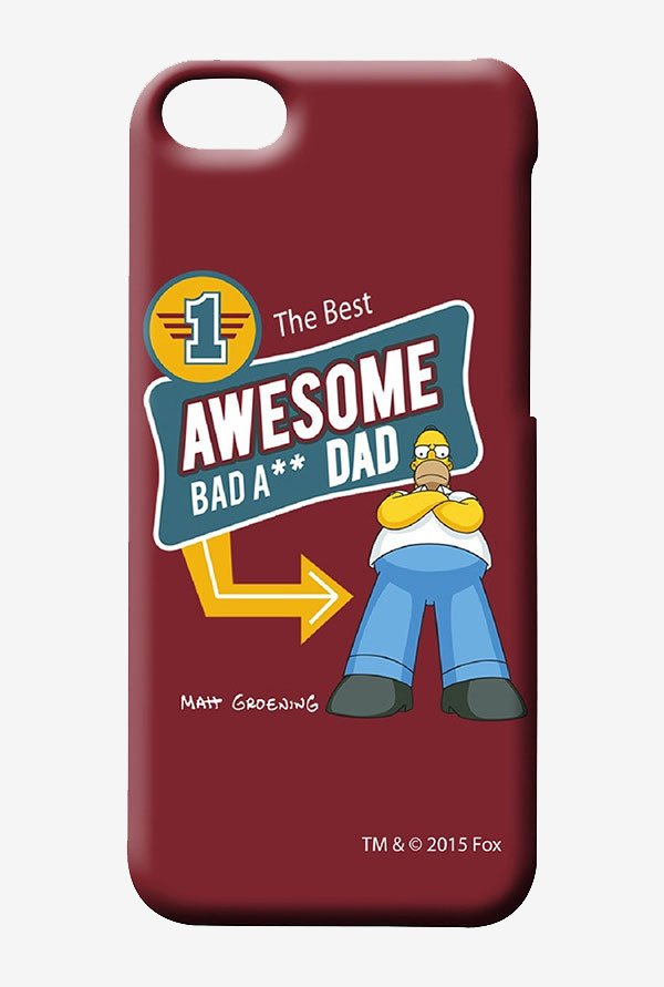 Simpsons Awesome Dad Case for iPhone 5C