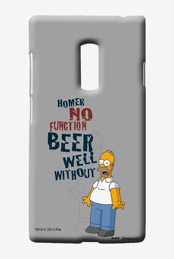 Simpsons Homers Poison Case for Oneplus Two
