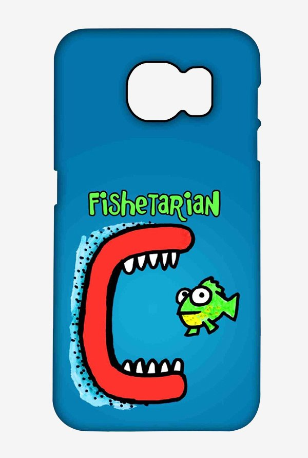 Kritzels Fishetarian Case for Samsung S6 Edge Plus