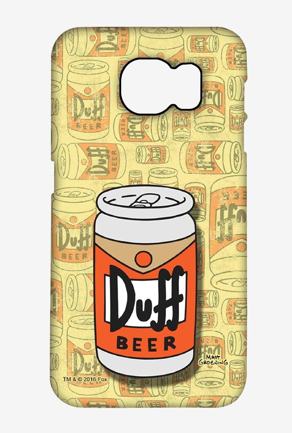 Simpsons Duff Beer Case for Samsung S6 Edge Plus