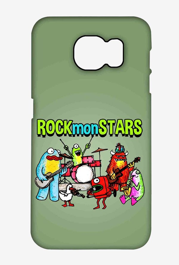 Kritzels Rockmonstars Case for Samsung S6