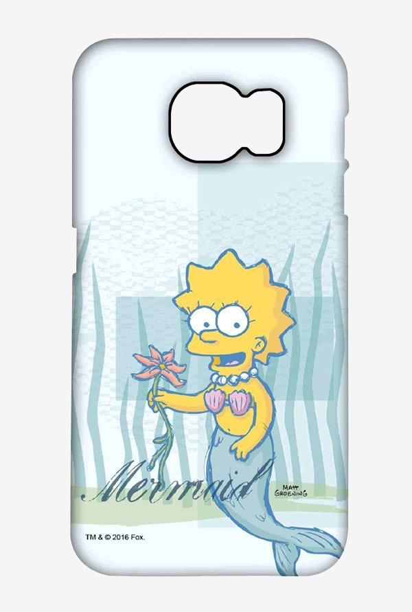 Simpsons Mermaid Case for Samsung S6