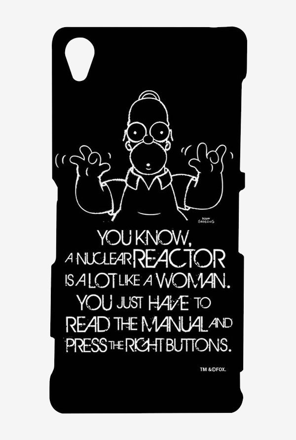 Simpsons Nuclear Reactor Case for Sony Xperia Z3