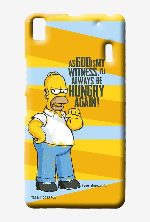 Simpsons Hungry Homer Case for Lenovo A7000