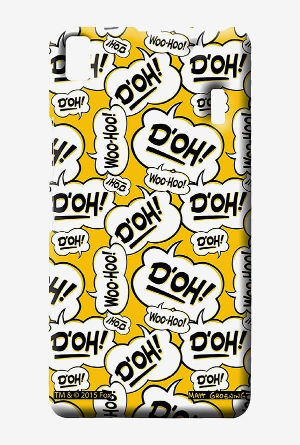 Simpsons Random Expressions Case for Lenovo A7000