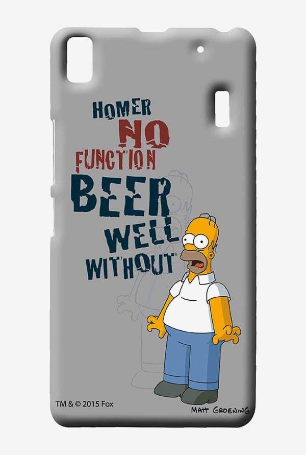 Simpsons Homers Poison Case for Lenovo K3 Note