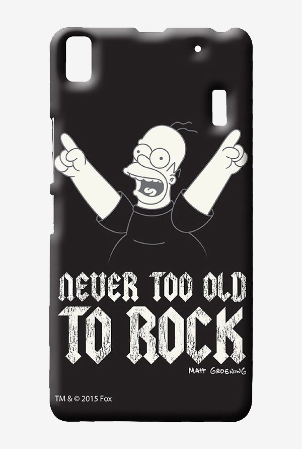 Simpsons Rockstar Homer Case for Lenovo K3 Note
